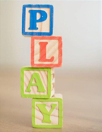 Quadro Decorativo Poster Play