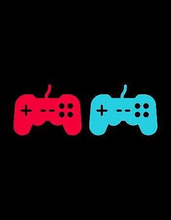 Quadro Decorativo Poster Controle de Vídeo-Game