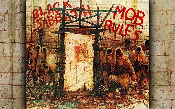 Quadro Decorativo Poster Black Sabbath Album