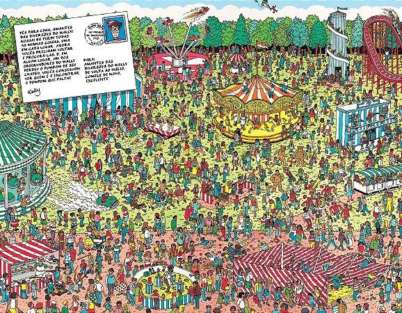 Quadro Decorativo Poster Onde Está Wally?
