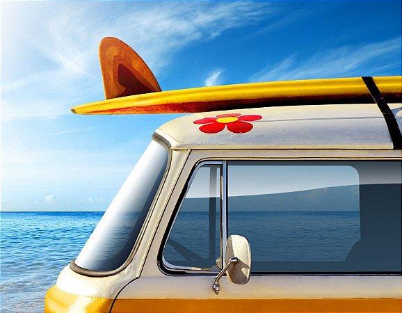 Quadro Decorativo Poster Van Surf