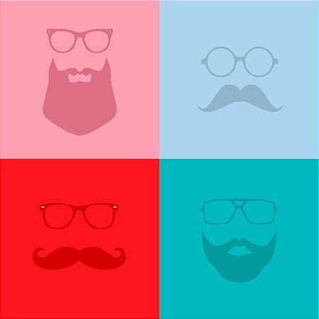 Quadro Decorativo Poster Faces