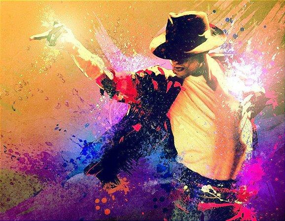 Quadro Decorativo Poster Michael Jackson