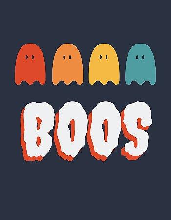 Quadro Decorativo Poster Fantasmas