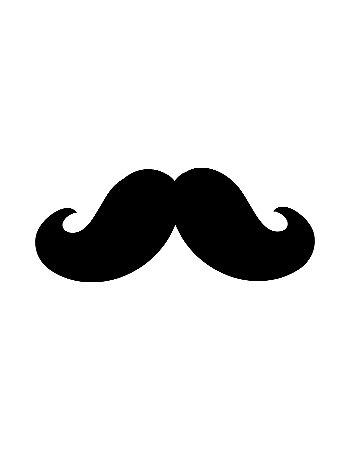 Quadro Decorativo Poster Fashion Mustache