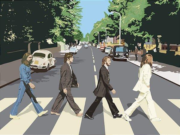 Quadro Decorativo Poster The Beatles