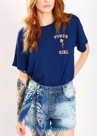 T-SHIRT POWER GIRL