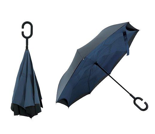Guarda-chuva fechamento invertido