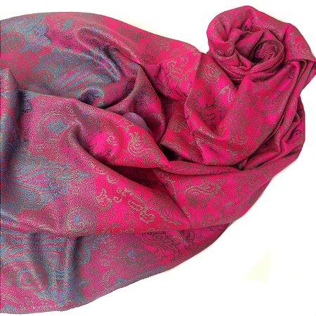 Pasmhina jacquard pink