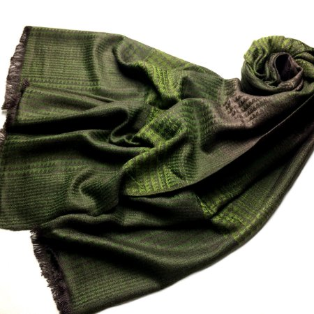 Pashmina - feminina/masculina verde