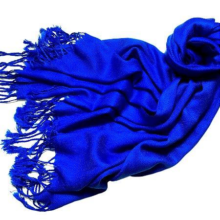 Pashmina azul bic