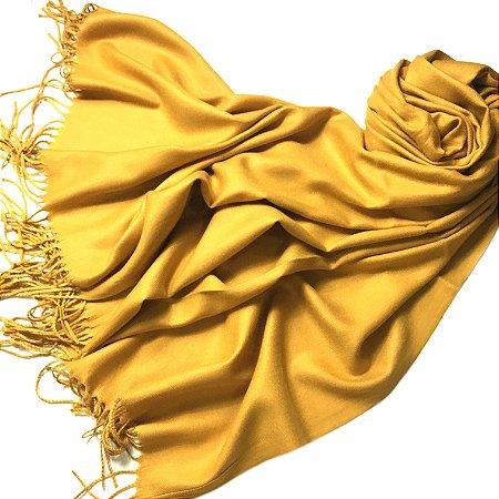 Pashmina padronagem cashmere - várias cores