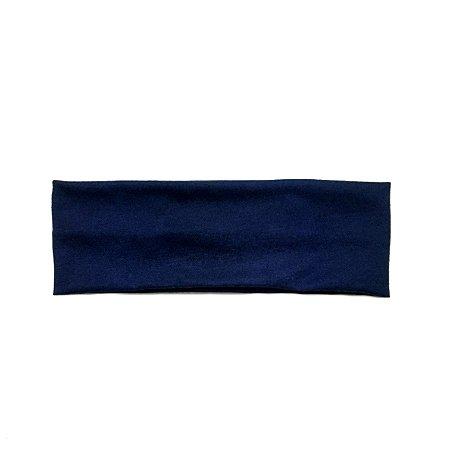 Headband/faixa/turbante azul marinho