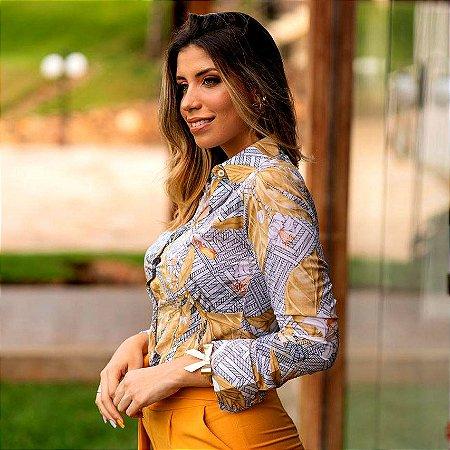 Camisa Flor de Oro