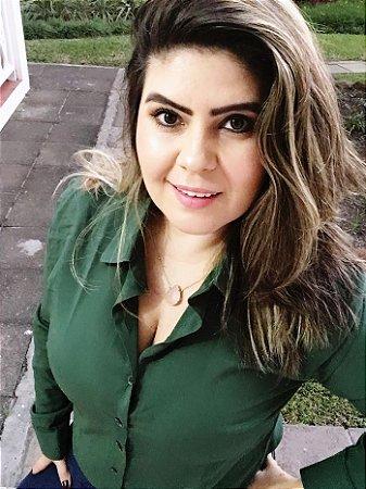 Camisa lisa verde