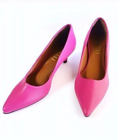 Scarpin pink - salto 5cm