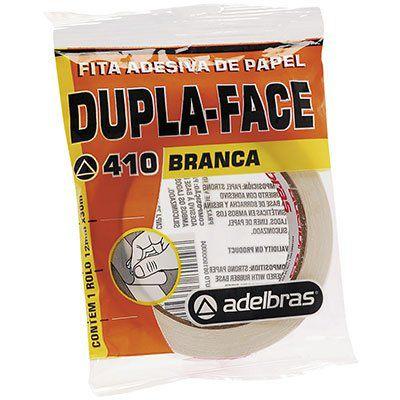 Fita Dupla Face Flow-pack 12mmx30mts. Adelbras