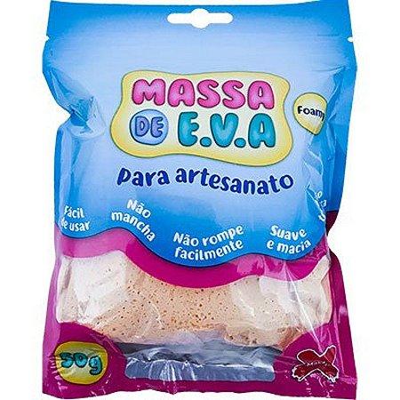 Massa de Eva - Artesanato Make+ Laranja Claro - 50g