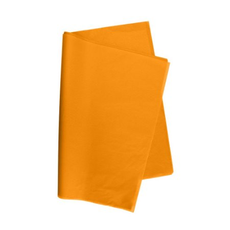 Papel De Seda Laranja 48x60cm 20g Pacote C/ 100 Unidades