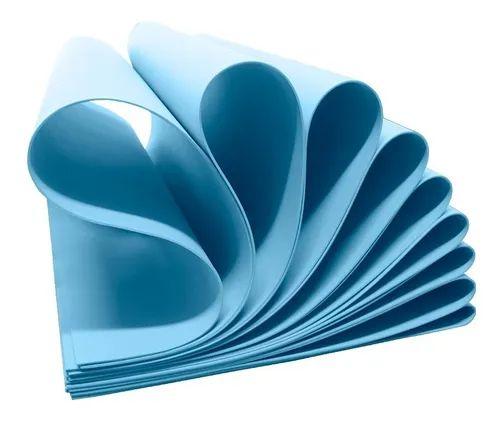 Placa EVA Make+ - 60x40cm - 1,6mm - Azul Claro