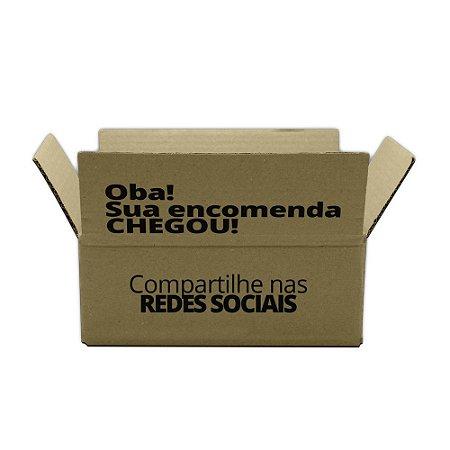 Caixas de Papelão Montáveis Personalizadas para E-commerce 24x15x09cm