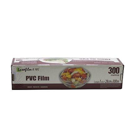 Bobina Filme PVC Lusafilm R105 c/serrilha 280mmx300m