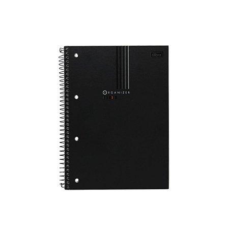 Caderno Especial Organizer Executivo Tilibra - 80 Folhas