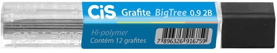 Grafite (0,5 mm) 2b C/12minas Bigtree - Sertic