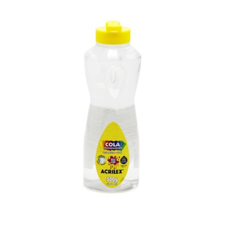 Cola Transparente Acrilex 500g