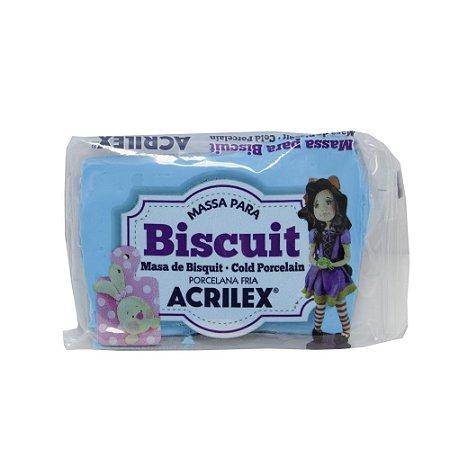 Massa de Biscuit Acrilex Azul Celeste - 90g