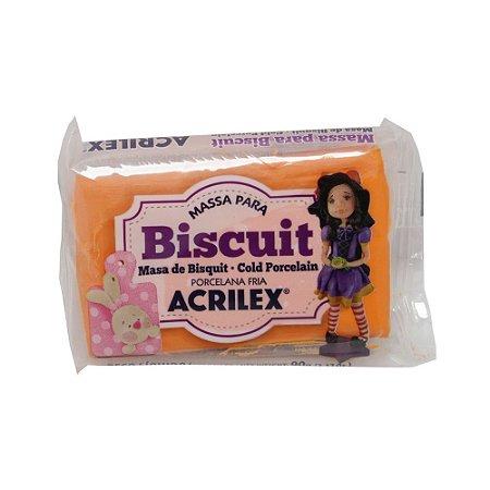 Massa de Biscuit Acrilex Laranja - 90g