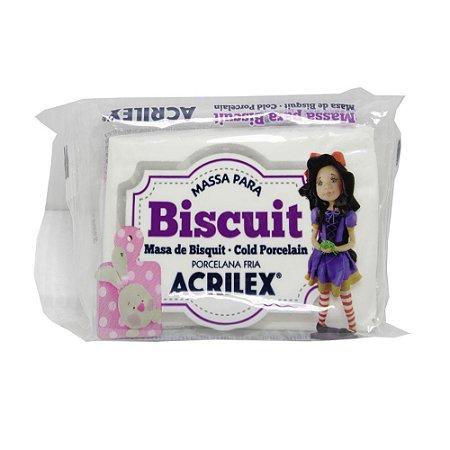 Massa Para Biscuit Natural Acrilex 90g