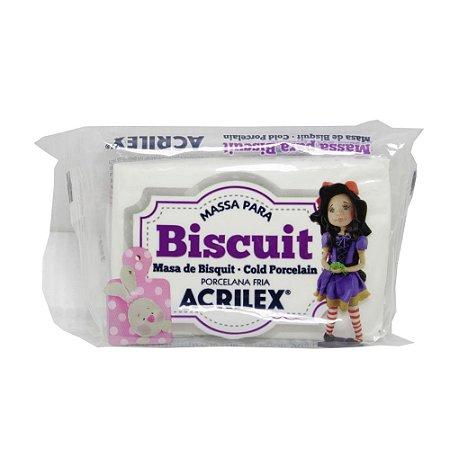 Massa Para Biscuit Branco Acrilex 90g