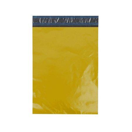 Envelope Plástico De Segurança Amarelo Com Bolha 19X25