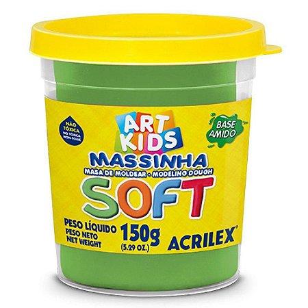 Massa de Modelar Soft Acrilex - Verde 150g