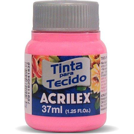 Tinta de Tecido Fosca Acrilex - 37ml Rosa