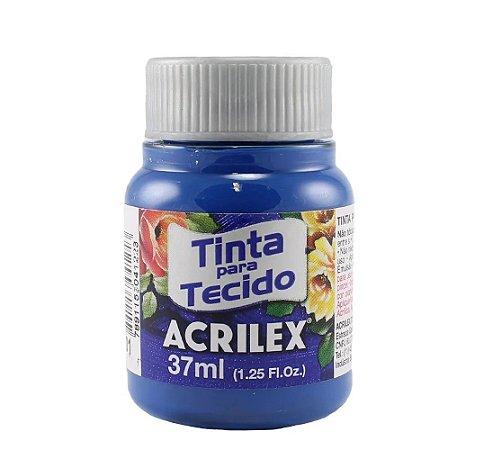 Tinta de Tecido Fosca Acrilex - 37ml Azul Turquesa