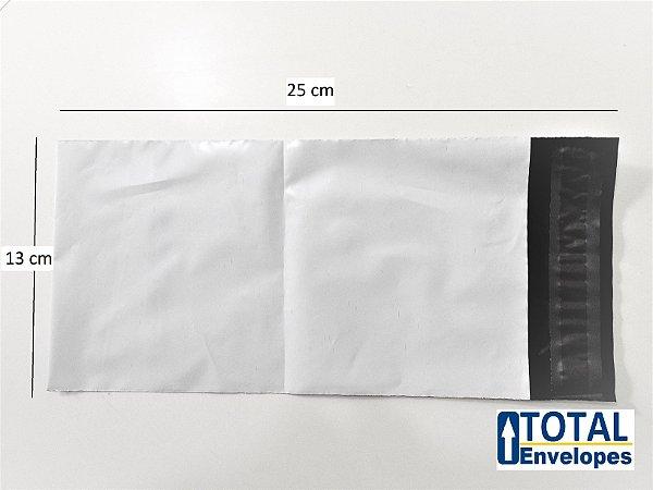 Envelope Plástico de Segurança 13x25 - 500 unidades