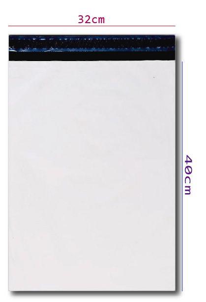Envelope Plástico de Segurança 32x40 - 50 unidades