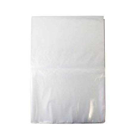 Saco Plástico Cristal Transparente 35cm x 50cm