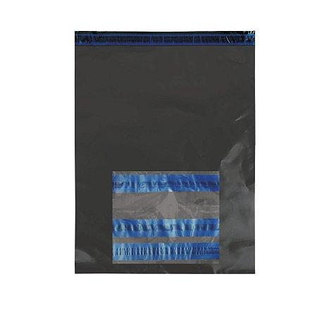 Envelope Segurança Cinza Com Bolha 40x50 + Saco Canguru AWB 10x12