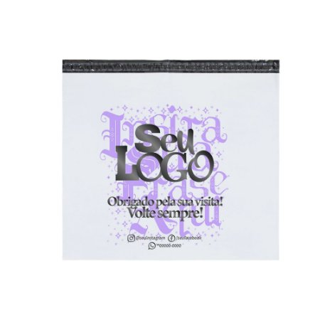 Envelope Personalizado Sem Bolha 70x60 - Seu Logo