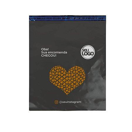 Envelope Personalizado Cinza Sem Bolha 50x60 - Seu Logo
