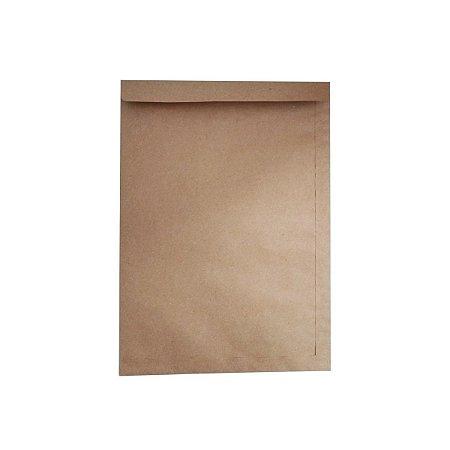 Envelope De Papel Kraft Pardo Natural 26cmx36cm