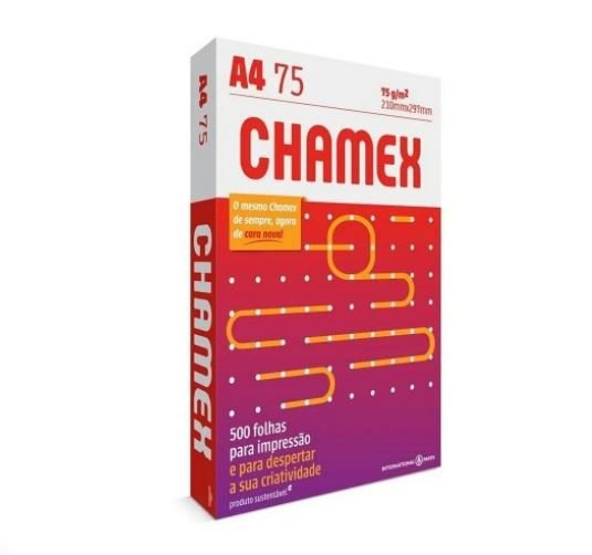 Papel Sulfite Chamex A4 75g - 500 Folhas