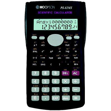 Calculadora Científica PS-82MS Hoopson - 240 Funções