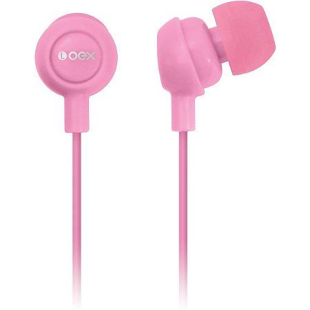 Fone Intra Auricular Newex - Rosa