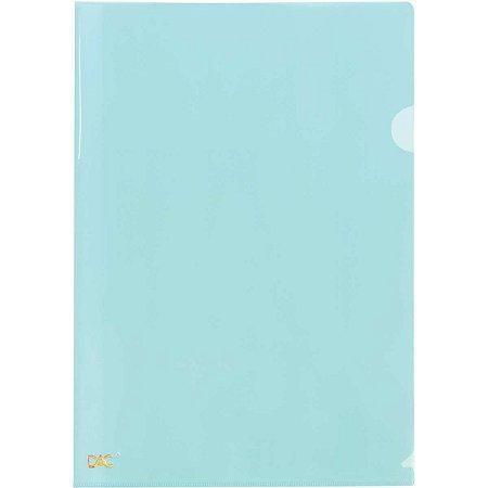 Pasta L A4 Breeze Azul Pastel Dac Pacote C/10