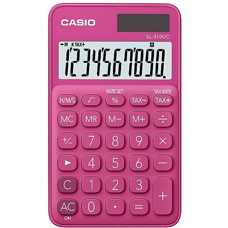 Calculadora de Mesa SL-310RD Cassio - Rosa
