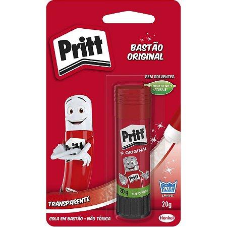 Cola em bastao Pritt 20 Gramas Henkel 1 Unidade